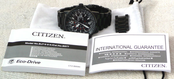 Citizen Nighthawk GMT PVD
